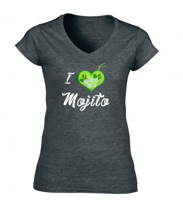 Tee shirt sympa I Love Mojitos