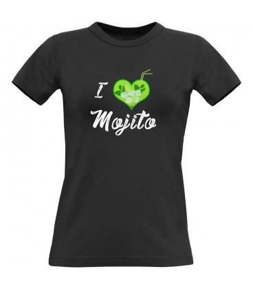 Tee shirt femme sympa I Love Mojitos