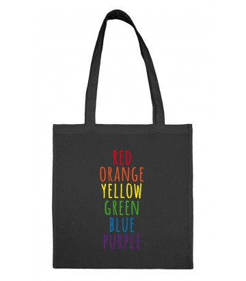 Tote bag US colors gay