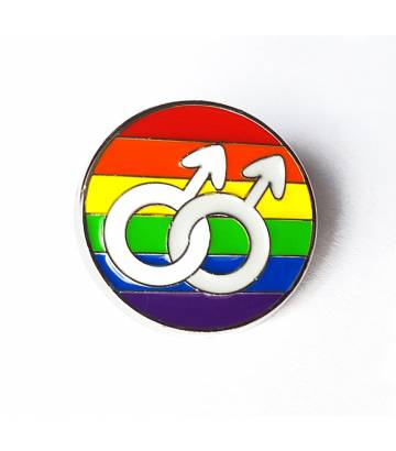 Pin's gay arc en ciel