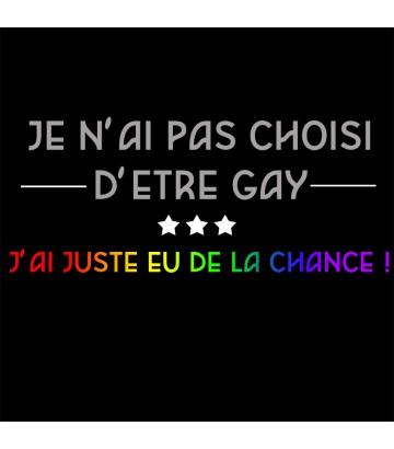 Je n'ai pas choisi d'être gay