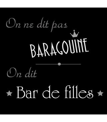Tee shirt lesbien Baragouine