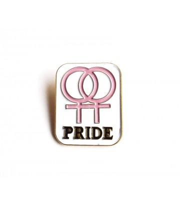 Epinglette Pride lesbien