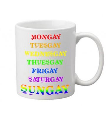 Mug rainbow Week
