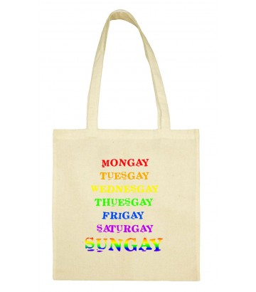 Totebag rainbow Week