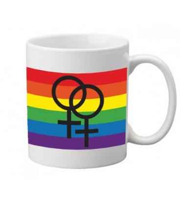 Mug srapeau lesbien