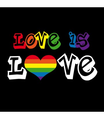 Tee shirt Love is Love LGBTQI