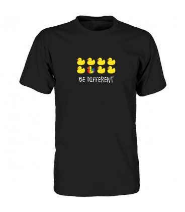 tee shirt gay Be Different canard sextoy