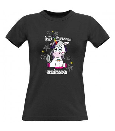 Tee shirt original femme avec licorne