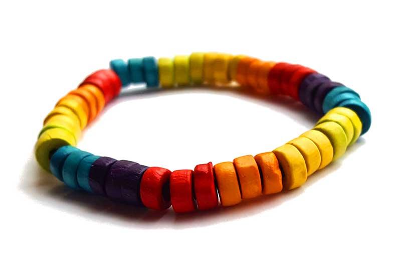 Bracelet coco Rainbow
