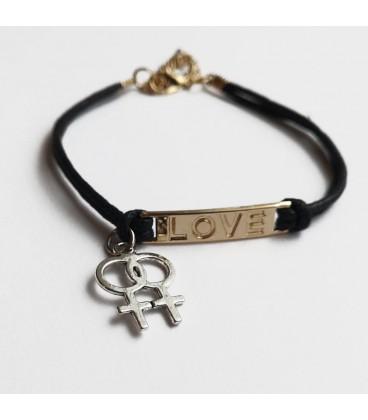 Bracelet lesbien LOVE
