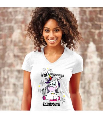 Tee shirt Fabulous Unicorn