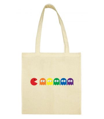 Tote bag Glouton rainbow