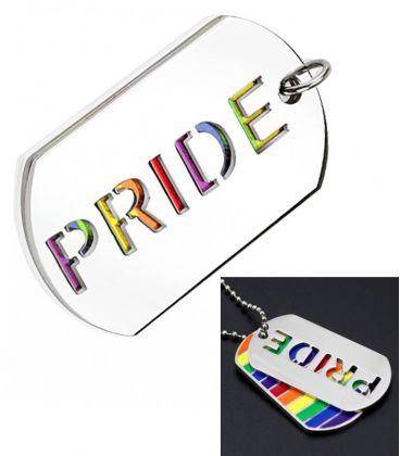 Plaque rainbow PRIDE