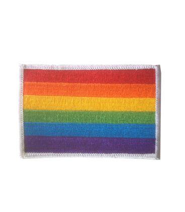 Ecusson rainbow flag