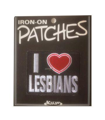 Ecusson I Love Lesbians
