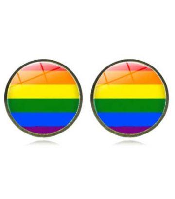 Boucle d'oreille rainbow