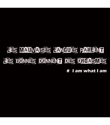 Débardeur I am What I am 1