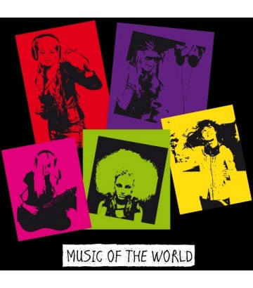 Débardeur Music of the world