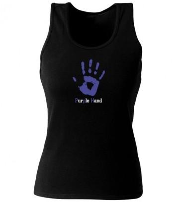 Débardeur Purple Hand