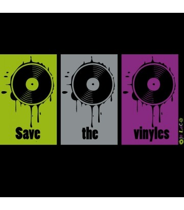 Débardeur Save the vinyles