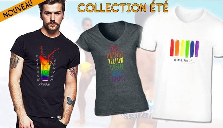 Tee shirts gays lesbiens